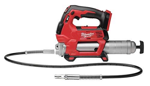- Milwaukee Cordless Grease Gun, Voltage 18.0 Li-Ion, Bare Tool, Cartridge Capacity 14-1/2 oz. - 2646-20