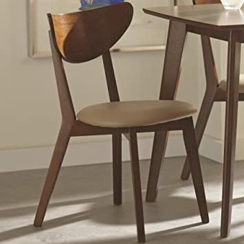 Coaster 103062 Home Furnishings Side Chair  Set of 2   Chestnut. Amazon com   Coaster 103062 Home Furnishings Side Chair  Set of 2