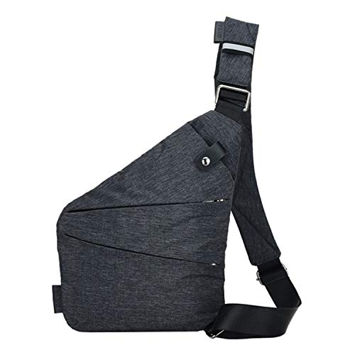 Perfect Home Portable MultiFunction AntiTheft Polyester Business Chest Bag Outdoor Sports Shoulder Bag for Men Easy to use