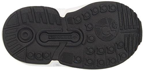 Unisex core S17 El Black Zx ftwr Bebé I Rojo Flux Zapatillas Adidas Red core White UqXOBRHwOF