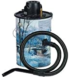 Loveless Ash Canister Vacuum Cleaner Cheetah Ash Vac, Winter Scene LA-MU305W