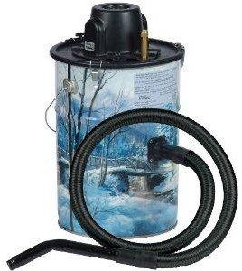 Loveless Ash Canister Vacuum Cleaner Cheetah Ash Vac, Winter Scene LA-MU305W