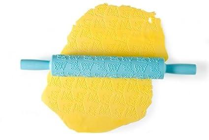 Brandani Decor Rouleau Pate De Sucre Abs Bleu Eau De Mer Amazon Ca