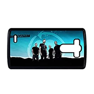 Generic Abs Back Phone Cover For Guys Print With Rise Against For Lg G3 Choose Design 1