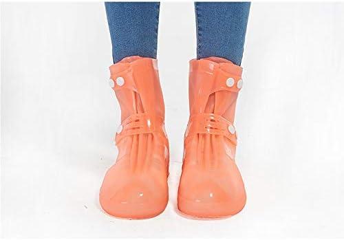 メンズ サイクリング シューズカバー 乗馬ハイキングノンスリップ靴カバー防水防風靴カバー耐摩耗靴カバー 防風 冬 軽量 (Color : Orange, Size : XXXL)