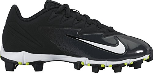 NIKE Kids Vapor Ultrafly Keystone BG W Baseball Cleat Black/White/Black Size 5 M US