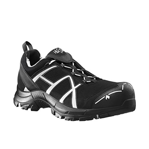 Haix Safety 40 Low Black/Silve tamaño UK 8,5/EU 43