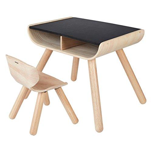 - PlanToys 8703 Table& Chair- Black Playhouse