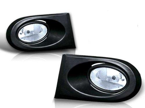 02-04 Acura RSX Clear OEM Style Fog Lights - Body Kits Rsx Acura