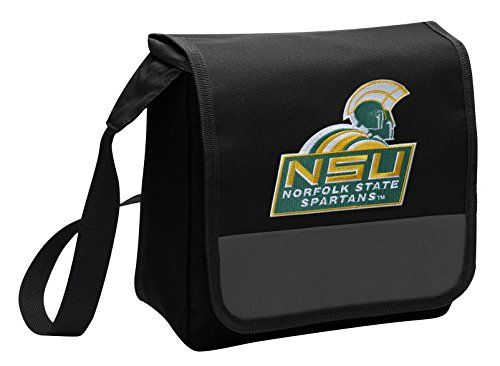 Broad Bay Norfolk State University Lunch Bag Shoulder NSU Spartan Lunch Box
