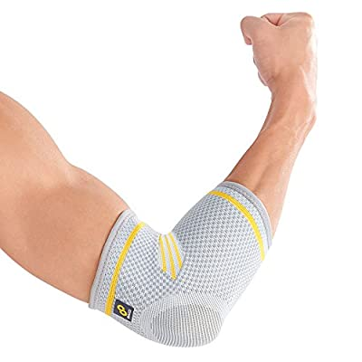 Bracoo Elbow Sleeve, Recovery Compression Support for Tendonitis, Weightlifting, Tennis and Golfer's Elbow, Fulcrum, 2 Count