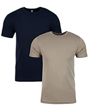 N6210 T-Shirt, Midnight + Warm Grey (2 Pack), Medium