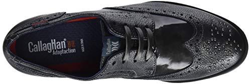 Derby De Zapatos plomo Cordones 1 Haman Mujer Callaghan Para Gris 7w1q4xC