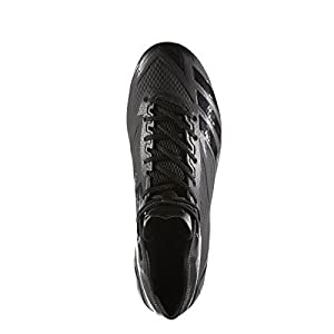 adidas Adizero 5Star 6.0 Mid Cleat Men's Football 10 Black-Black-Black