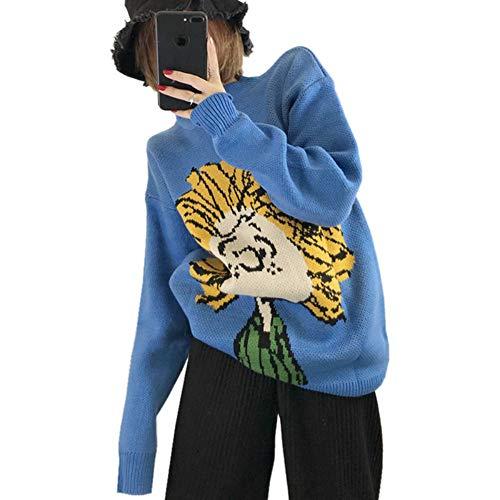 Tamaño Suéter Mujer Suéteres Tfdgh Invierno Gruesos Gran Punto Puentes Otoño De H5Yxn6qnwd