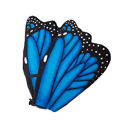 Wildlife Tree Plush Blue Morpho Butterfly Wings for