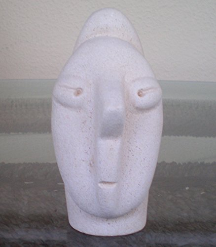 Paleolithic - Neolithic Narrow Small Head - Ancient Greece - Cycladic Art