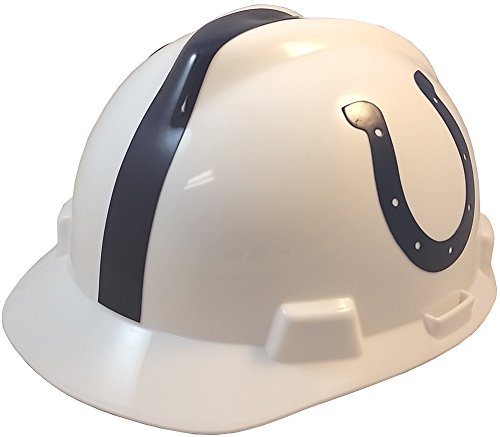 Pro Football Indianapolis - MSA 818396 Adults Indianapolis Colts Football Logo Hard Hat One Size