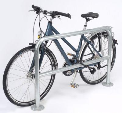 L/änge 1200 mm zum Aufd/übeln schlicht Anlehnb/ügel Anlehnb/ügel f/ür Fahrr/äder Einzelst/änder Fahrradanlehnb/ügel Radst/änder Fahrrad-Anlehnb/ügel verzinkt