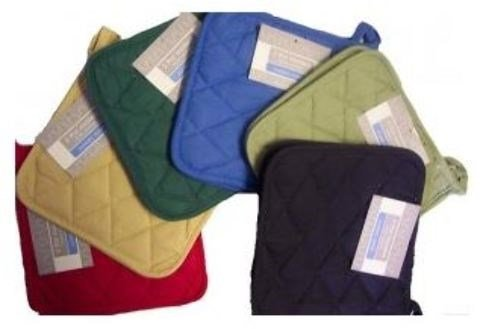 Classic Home Solid Woven Pot Holder 8 X 8 Cotton(Pack of 72) from Classic Home