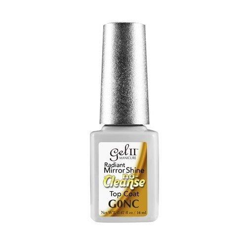 GEL II Manicure Radiant Mirror Shine No Cleanse Top Coat -G000NC