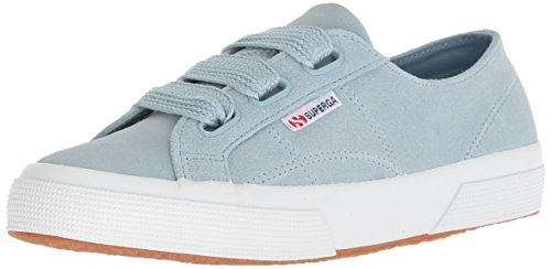 Superga Women 2750 Suewbiglace Sneaker Light Blue