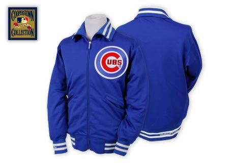 Chicago Cubs 1982 BP Jacket Mitchell & Ness 48