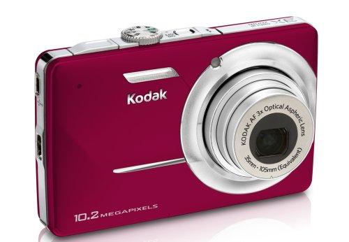 Kodak Easyshare M340 Digital Camera (Red)