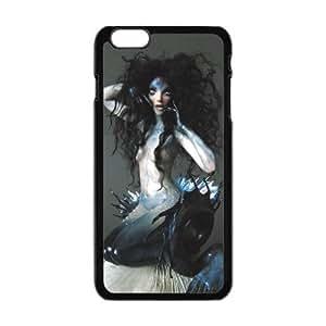 Mermaid IPhone6 Plus Case, Customize Mermaid Case for IPhone6 Plus