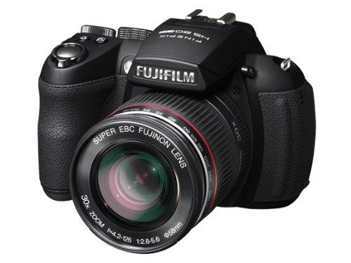 FUJIFILM デジタルカメラ FinePix HS20EXR ブラック F FX-HS20EXR 1600万画素 EXR CMOSセンサー 広角24mm 光学30倍 3型クリア液晶   B004G8Q61E