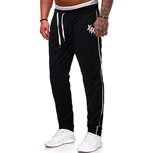 CieKen Men's Sweatpant Quick Dry Athletic Performance Workout Jogger Sweat Pant(Black,S)