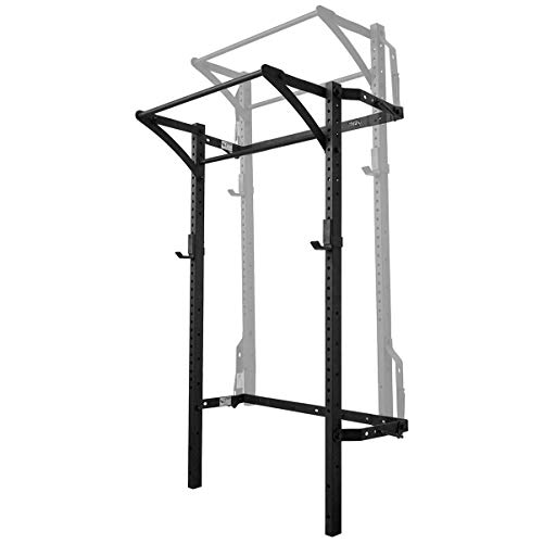 PRx Performance Murphy Rack, Wall Mounted Fold Up Squat Rack, 90 Inch Uprights, Space Saving Home Gym Equipment
