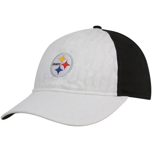 (NFL Women's Fan Gear Team Color Slouch Adjustable Hat - EQ57W, Pittsburgh Steelers, One Size Fits All)