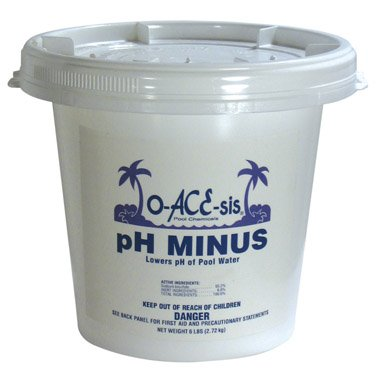 O-ACE-SIS PH MINUS - TF084006048OAC (Pack of 8) by WATER TECHNIQUES