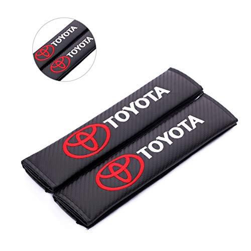 Fast & Furious Carbon Fiber seat Belt Shoulder pad for Toyota (Toyota)