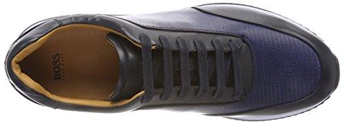 BOSS Runn buex Sneaker 401 Blue Blau Herren Legacy Dark 1qr64xS1