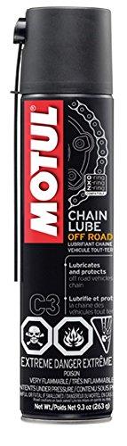 Motul MTL103245 Off Road C3 Chain Lube, 9.3 fl. oz, 1 Pack