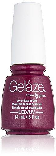 China Glaze Gelaze 100% Gel-n-Base Polish, Flying Dragon, 0.5 Ounce ()