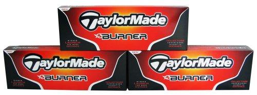 TaylorMade Burner Golf Balls 12-Pack, Outdoor Stuffs