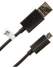 Cabo de Dados Micro USB Preto Original Motorola - 1.07 Metro - Embalagem Econômica