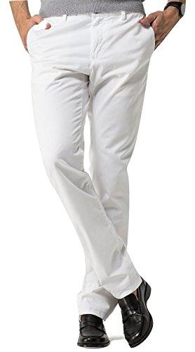 TOMMY HILFIGER MEN'S Slim Fit Chino, HERREN Chino HOSE, 34W-32L (45cm-107cm)