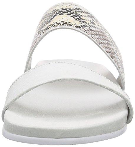 Inuovo Damen 6121 Pantoletten Weiß (WHITE)