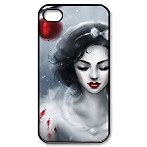 Custombox Snow White iphone 4/4s Case Plastic Hard Phone case-iPhone 4-DF00307