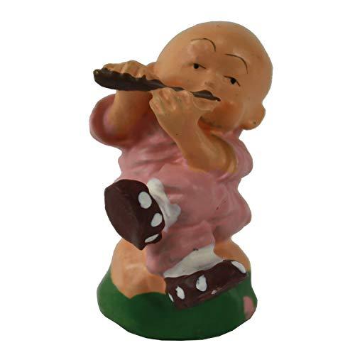 WAN NAN Pocket Size Buddha BOY Playing The Flute ()