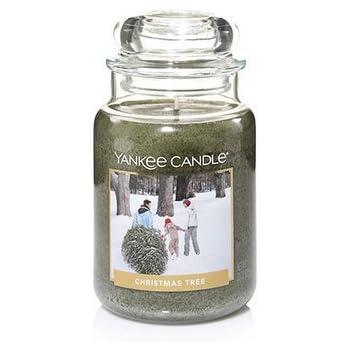 Amazon.com: Yankee Candle Christmas Tree Large Jar Candle ...