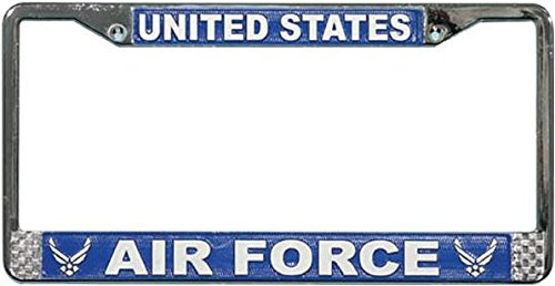 Royal Canadian Air Force Afghanistan Veteran Chrome License Plate Frame