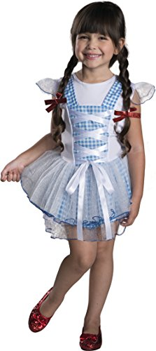 Rubies Wizard of Oz 75th Anniversary Dorothy Tutu Dress Costume, Toddler (Toddler Kansas Girl Tutu Costumes)