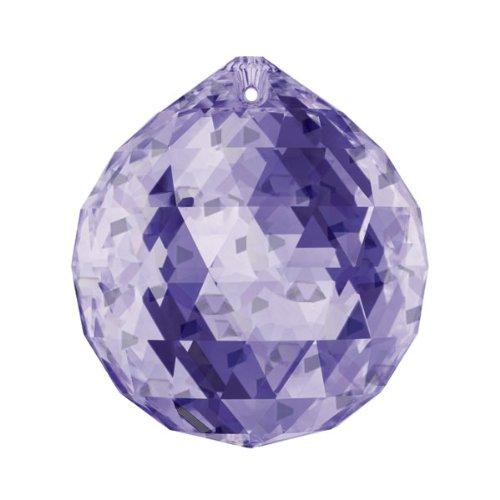 Swarovski crystal Blue Violet Crystal Ball 30mm, Feng Shui, Ball Prism