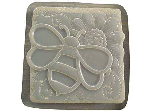 (Bumble Bee with Sunflower Stepping Stone Mold 1305)