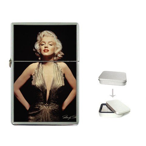 New Order Sexy Marilyn Monroe Flip Top Lighter +Free Gift Box + Free ()